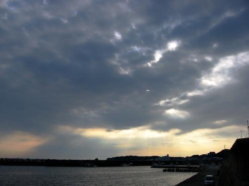 天神崎の雲